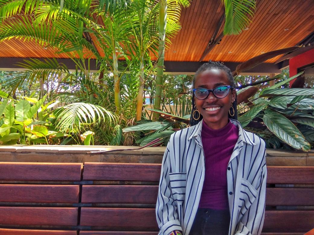 Portrait of June who works at Moringa School