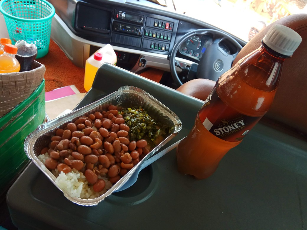 Tasty beans, rice and vegetables