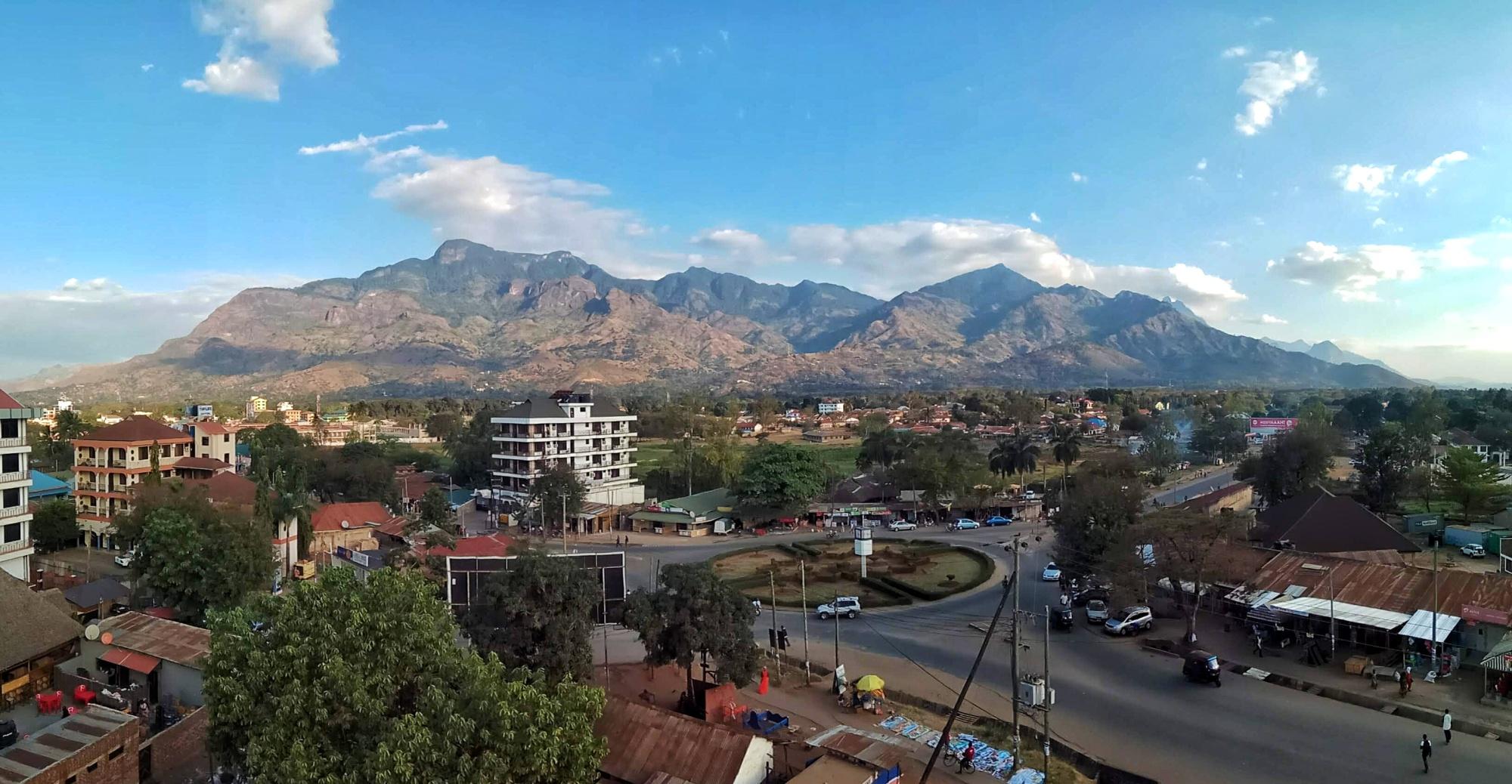 Panoramic view of Morogoro