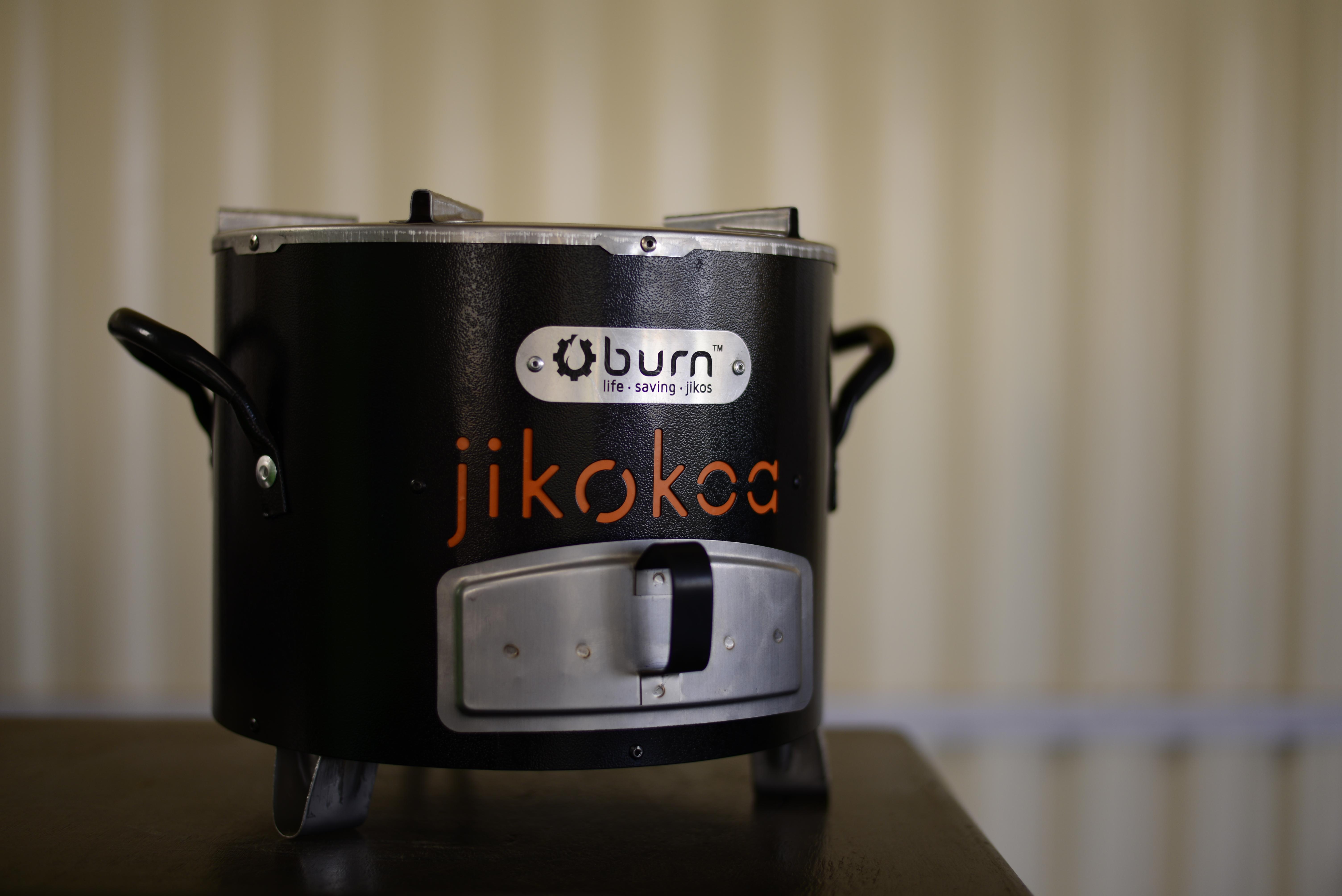 Close up of the Jikokoa stove